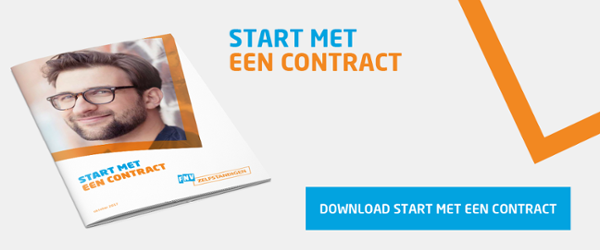 Start met een contract